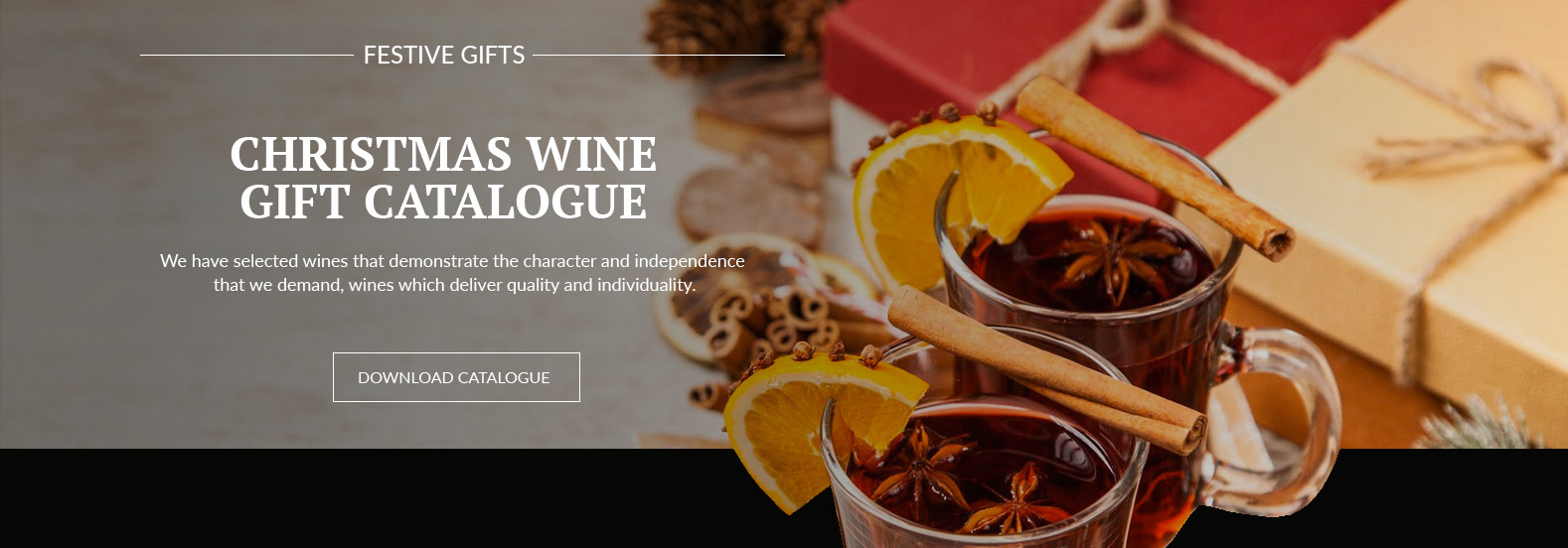 Christmas Gifts Wine Catalogue