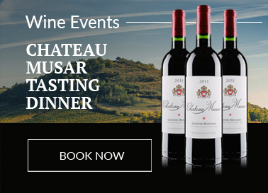CHATEAU MUSAR TASTING DINNER