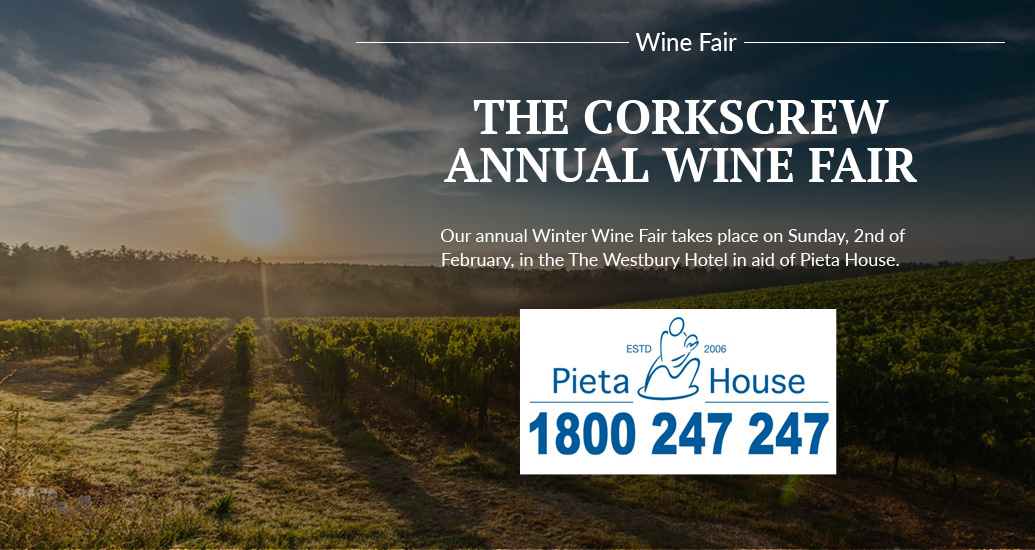 Annual Charity Wine Fair in aid of Pieta House