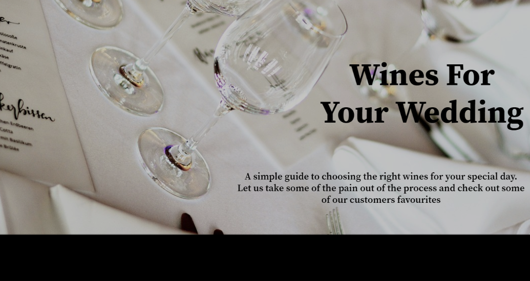 Our Guide & Recommendations For Wedding Wines To Suit All Budgets